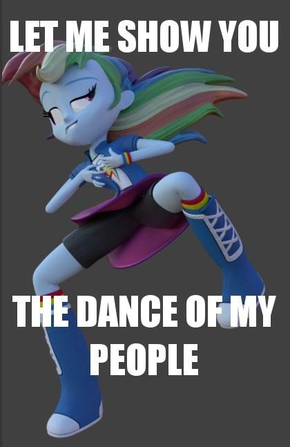 3d equestria girls rainbow dash - 8381889280