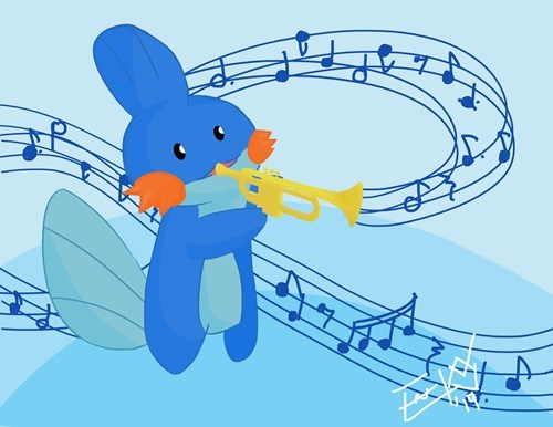 mudkip trumpets horn - 8381929984