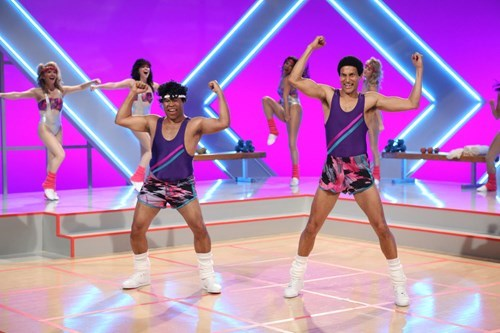 Key and Peele,comedy central,aerobics