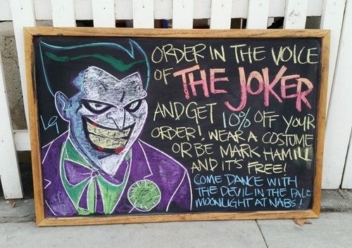 the joker burgers Mark Hamill