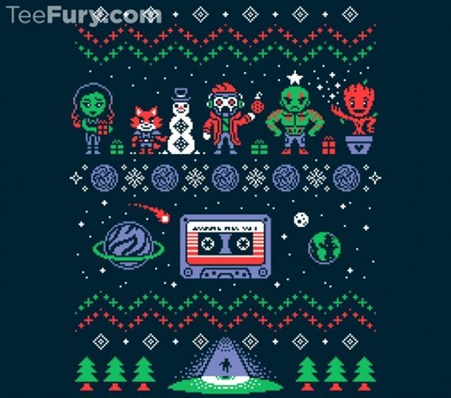 christmas,guardians of the galaxy,ugly sweater