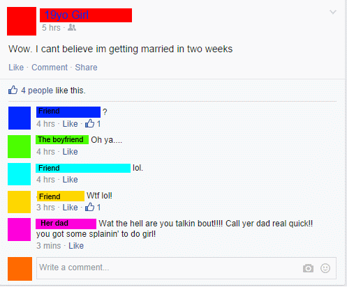 marriage,parenting,facebook