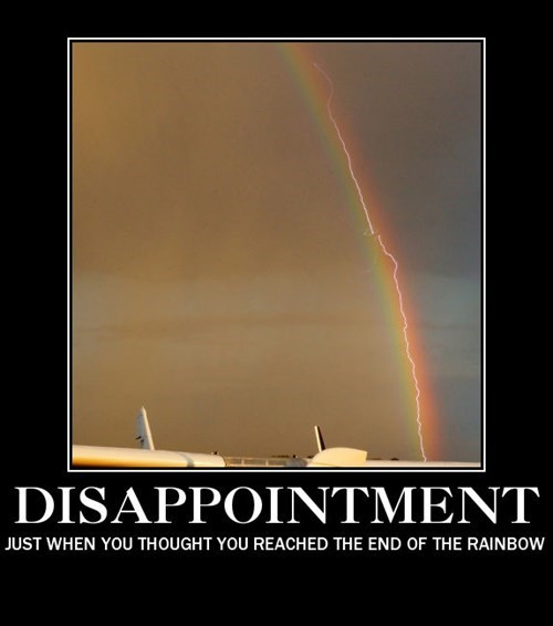 disappointment,lightning,funny,rainbow