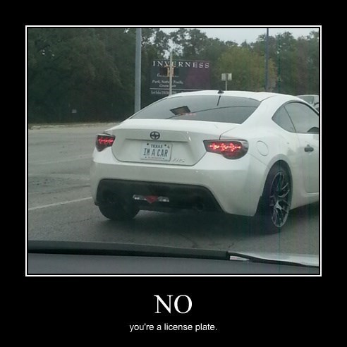 cars,literal,license plate,funny