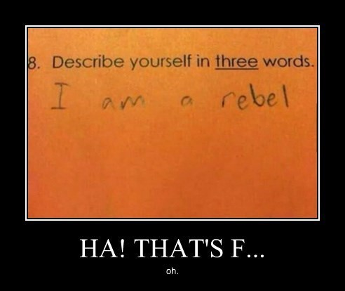 homework,rebel,funny
