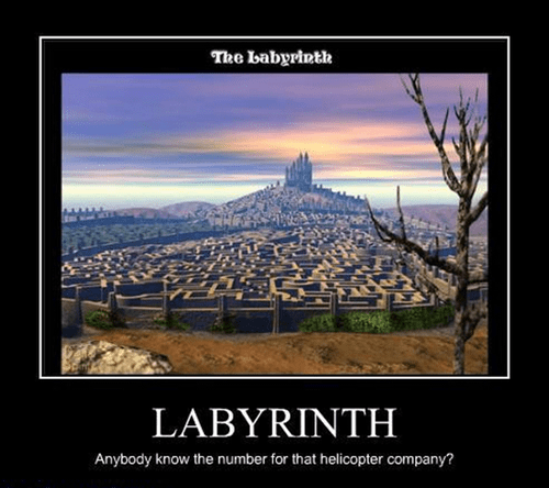 Movie helicopter funny labyrinth - 8382254080