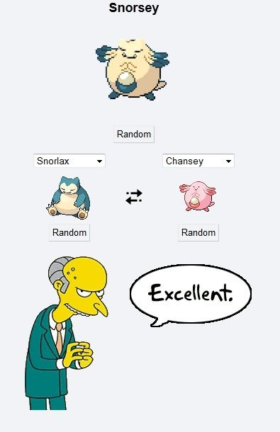 Pokémon snorlax pokemon fusions chansey the simpsons - 8382327808