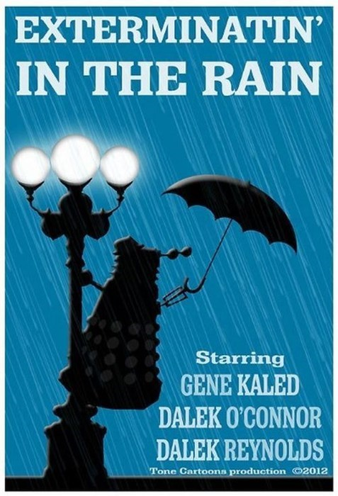 Singing in the rain mashup daleks - 8382382336
