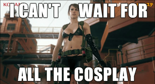 metal gear solid V cosplay quiet - 8382466048