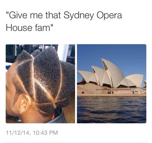 sydney twitter haircut reaction - 8382549248