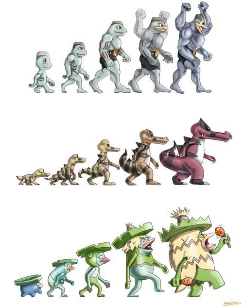 Pokémon Machamp ludicolo krookodile - 8382722304