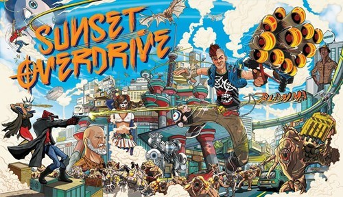 sunset overdrive xbox free Video Game Coverage - 8382934528