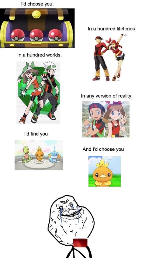 Pokémon ORAS starters - 8382937856