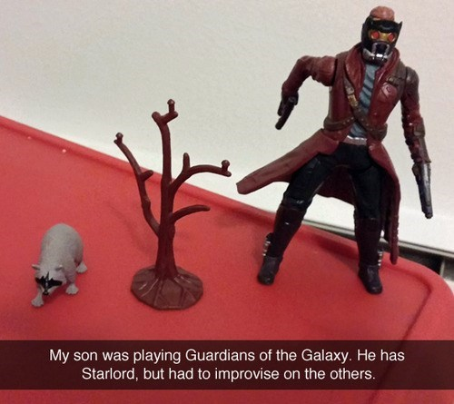 toys guardians of the galaxy rocket raccoon star-lord g rated parenting - 8382963456