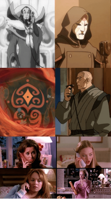 crossover,mean girls,Avatar,korra