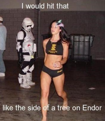 Sexy Ladies star wars stormtrooper funny - 8382977280