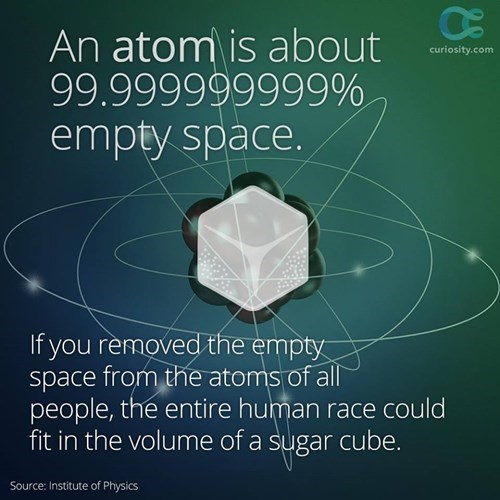 Fun Fact atoms science funny sugar cubes - 8382981632
