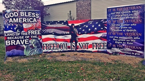 freedom is not free god bless america the south - 8383011328