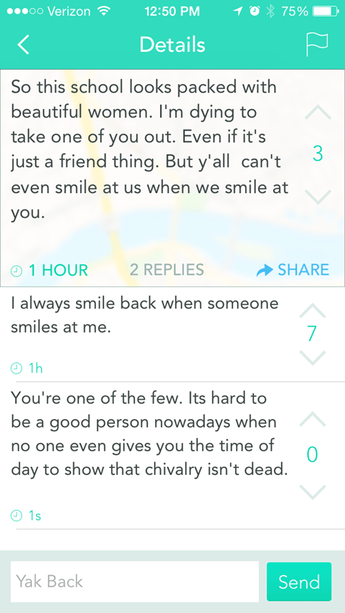 chivalry yik yak neckbeards dating