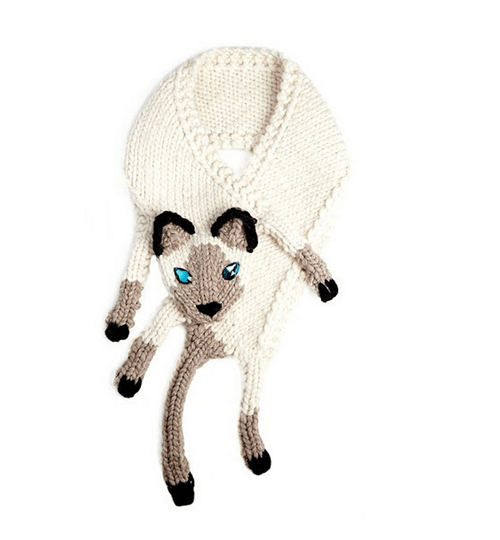 scarf poorly dressed Cats siamese - 8383098624