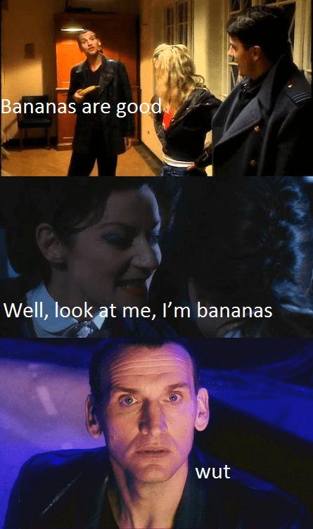 missy bananas 9th doctor - 8383133952