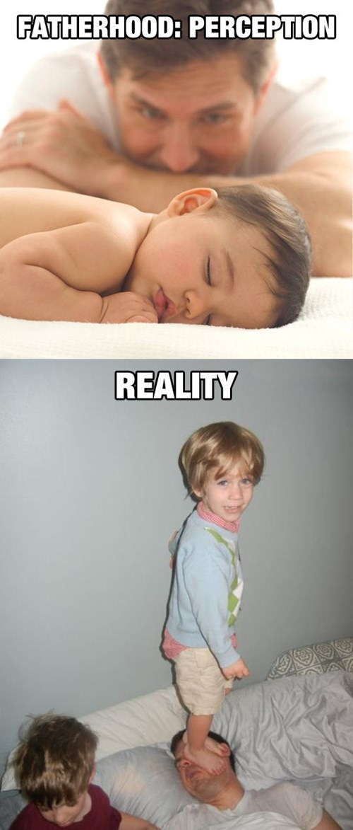 kids expectations vs reality parenting dad g rated - 8383201536