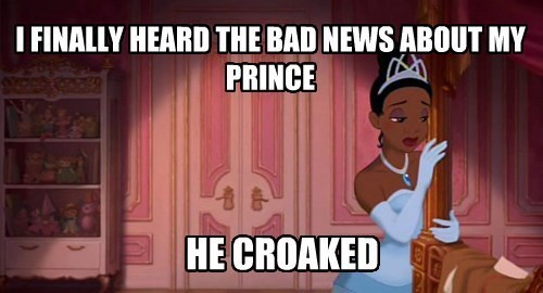 disney princess and the frog puns - 8383211776