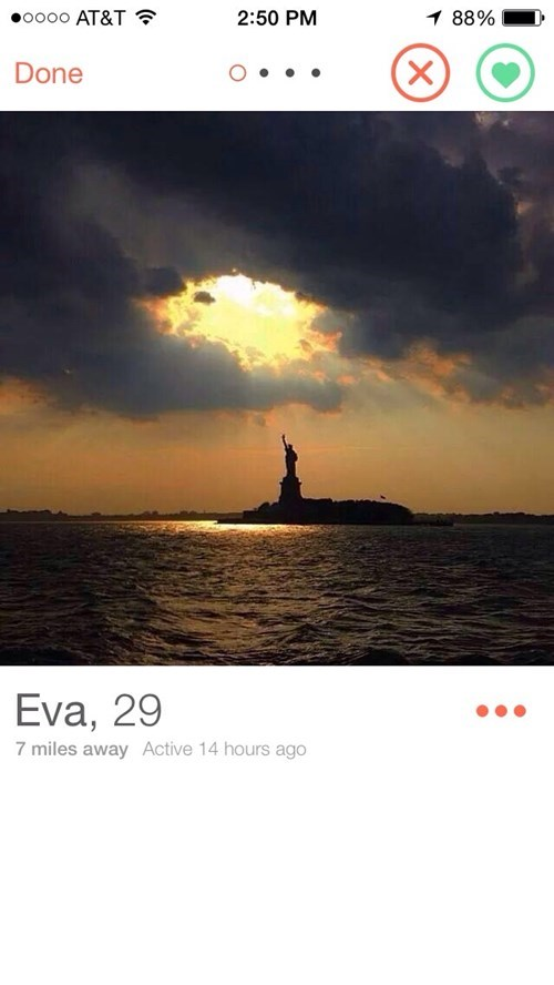tinder Statue of Liberty dating - 8383225088