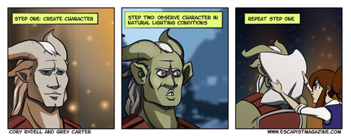Dragon Age: Inquisition escapist web comics dragon age - 8383247360