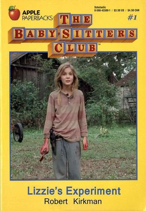 babysitter's club,lizzie is crazy
