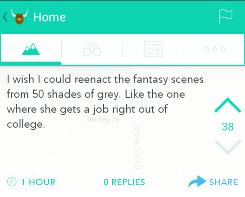 yik yak,work,50 shades of grey,true facts,failbook,g rated