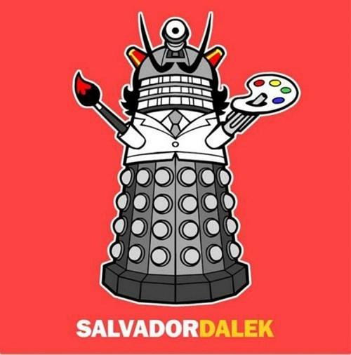 Fan Art salvador Dali daleks - 8383981056
