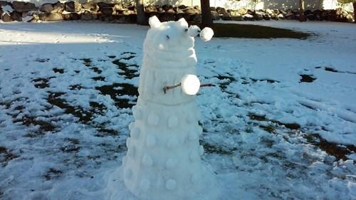 daleks snowman - 8383984128