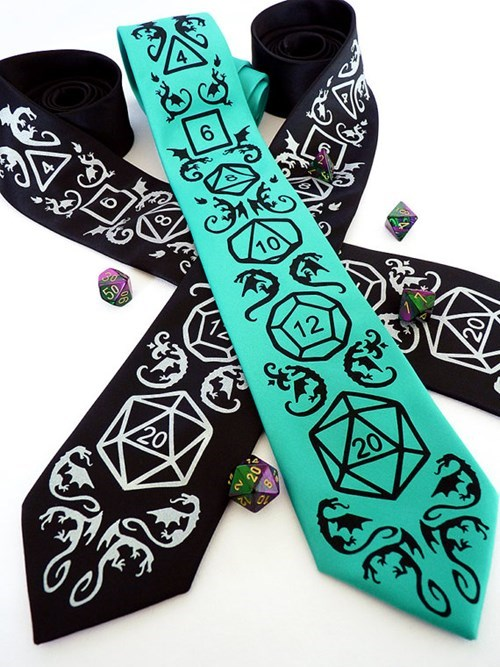 for sale ties dungeons and dragons - 8384035584