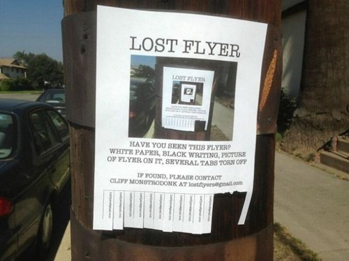 flyers lost flyer - 8384291840