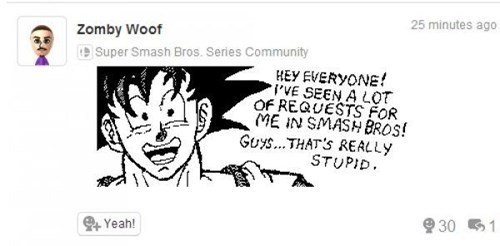 goku,super smash bros,wii U