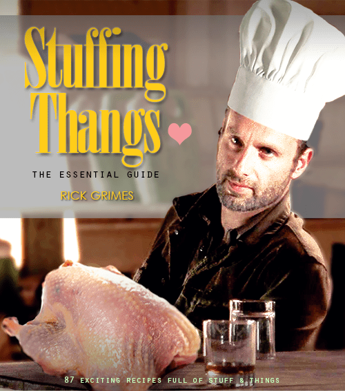 Rick Grimes thanksgiving stuff and things - 8384651776
