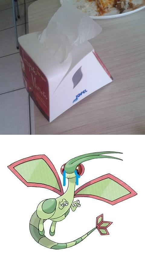 Sad,napkin,flygon