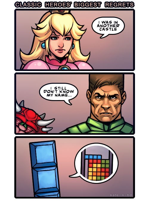 doom video games tetris mario