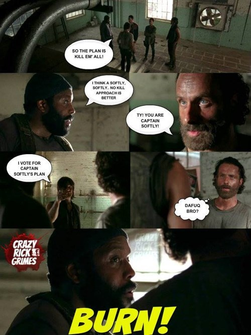 Rick Grimes tyreese - 8385200128