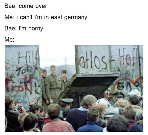 twitter,berlin wall,bae,Germany,east germany