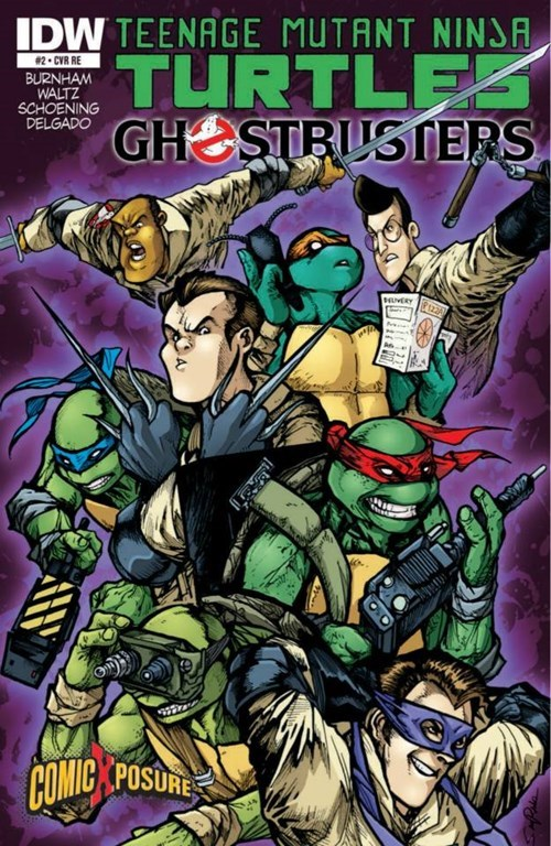 TMNT,Ghostbusters,cross over