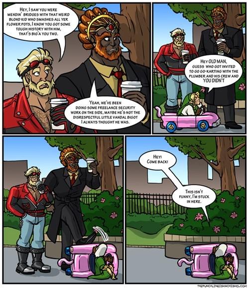 link mario kart 8 zelda web comics - 8385345024