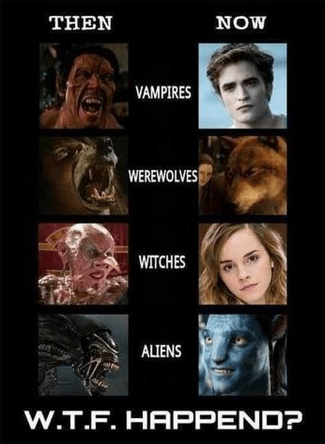 Harry Potter werewolves vampires twilight funny