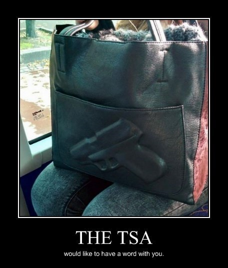 guns,bad idea,TSA,funny