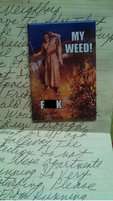 inhale burning bush moses magnets weed - 8385392896