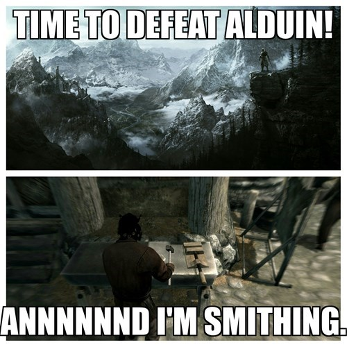 gaming,smithing,Skyrim