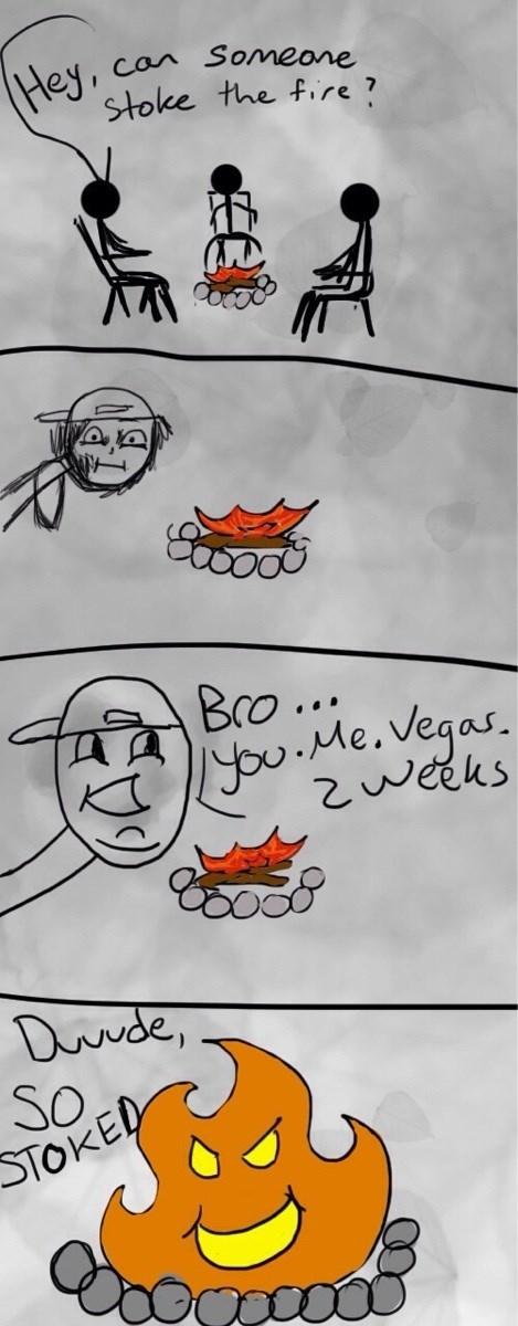 bros fire puns web comics - 8385407744