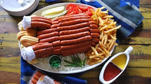 thanksgiving oscar mayer Turkey hot dogs hot durkey - 8385430272