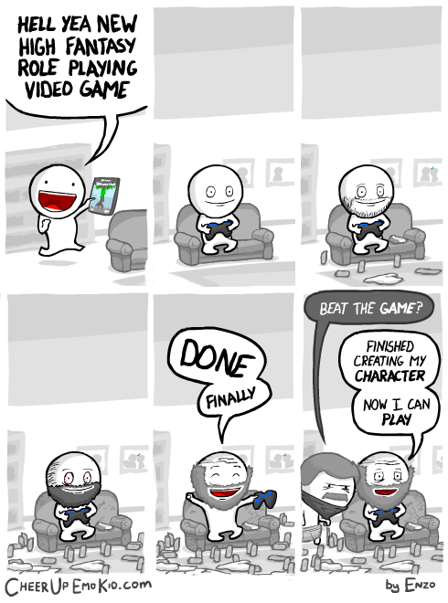 character creation video games web comics - 8385433856